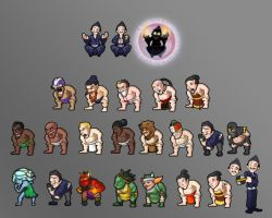 Volleyball Sprites by AstroHelix