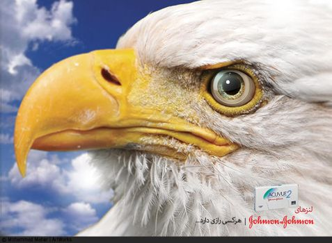 Johnson and Johnson Lense Advertising by m-maher