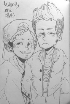 twenty one pilots by Karoline-13