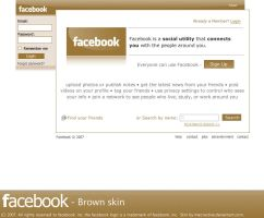 facebook brown by maoractive