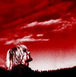 Red Skys with Kurt Cobain by TheVampireQueen