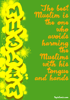 The best Muslim hadith Poster by topmuslim