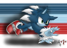 Sonic the Werehog by AR-ameth