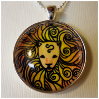 Leo Pendant by cellsdividing