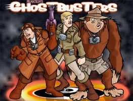 Lets GO GHOST BUSTERS by lordsmiley