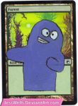Altered Magic Card: Bloo by JessWells