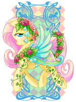 Fluttershy Carousel Cutie by Amelie-ami-chan