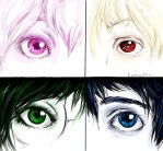 kids and eyes by na-no-chan