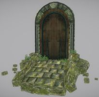 Foresty door by samdrewpictures