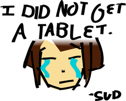 No tablet by Sudrien