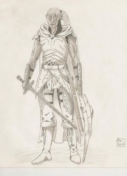 Skyrim character of old. by The-Stalwart