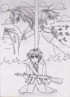 Hetalia- USxUK.. Independence by Jayfeather97