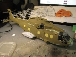 1/48 Scale AW-101 Merlin HC3 progress 5 by Coffeebean2