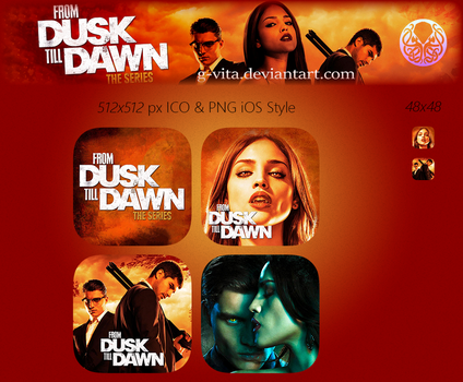 From Dusk Till Dawn The Series TV Series Icon by g-Vita