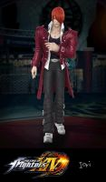 The King of Fighters XIV: Iori by xCrofty