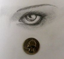 25 cent Eye by PinstripeChris