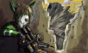 speedpaint : roughed up by kovat