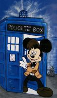 Disneys Mickey Mouse as the Doctor by waltoon