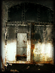 Armoured door by HerrHans