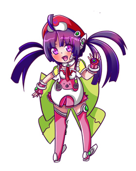 Tone Rion Chibi by the-electric-mage