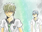 I dont want to leave either [ makoharu ] by qootungtung