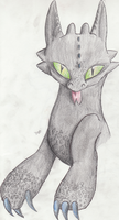 Toothless...Again by Snootle