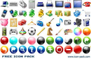 Free Icon Pack by Ikont