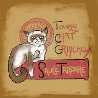 Le Chat Grincheux by eri-phyle