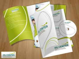 Branding IXL-Center by AhmedBakir