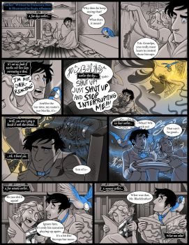 WASP 2015: Penny Blackfeather guest comic by squonkhunter