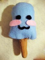 Sea Salt Ice cream plushie by angelx129