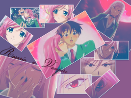 Rosario + Vampire wallpaper by Nothernwolf