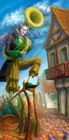 The True Story of the Pied Piper of Hamelin by Mirallisa