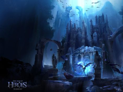 Water Temple by kyzylhum