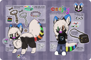 C-Jay 2013 Reference Sheet by Beetleflight