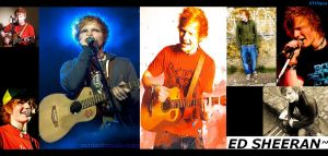 Ed Sheeran Wallpaper by KHAqua