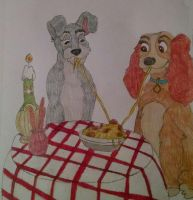 Request 97: Lady And The Tramp by Sparrow12592