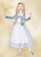 18th Century Disney - Alice in Wonderland by Rachyf1