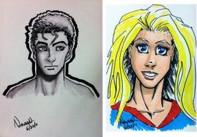 Marker Sketches by Fellhauer