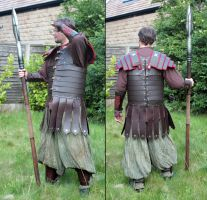 Roman Leather Lorica by Archanejil