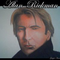 Alan Rickman by GingerAnne
