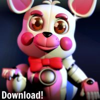 TLT funtime foxy model [DOWNLOAD] by CoolioArt
