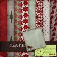 sleigh ride-paper street designs by paperstreetdesigns