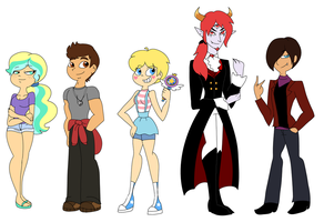 SVTFOE: Older!Designs by PurfectPrincessGirl