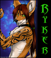 ConBadge Comm - Ryker by Majime