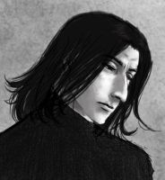 Guess what.. more Snape-art :D by sinister-otaku