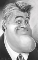 JAY LENO by JaumeCullell