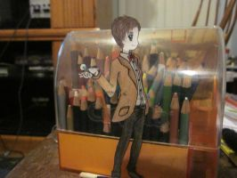 Eleventh Doctor Paperchild by aipuri