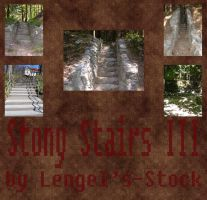 Stony Stairs Pack III by Lengels-Stock