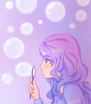 Bubbles by noorkawaii